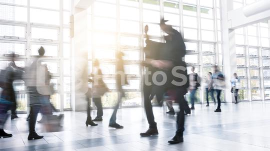 Abstract Image of Business People Walking at a floor  : Stock Photo or Stock Video Download rcfotostock photos, images and assets rcfotostock | RC-Photo-Stock.: