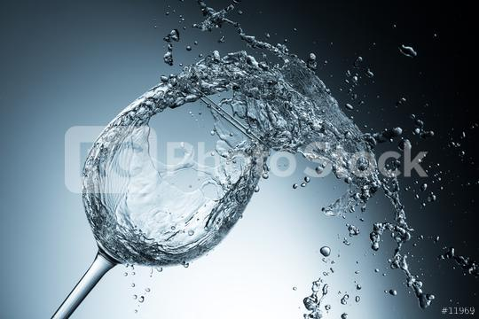 abstract water splash in a wine glass  : Stock Photo or Stock Video Download rcfotostock photos, images and assets rcfotostock   RC-Photo-Stock.: