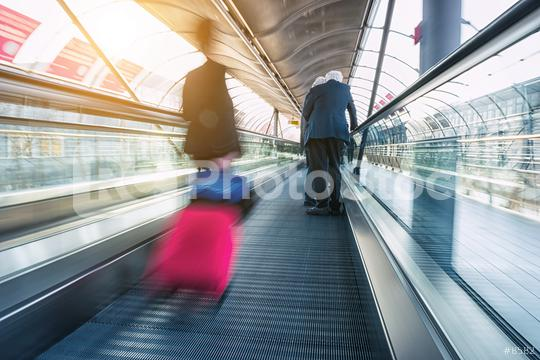 abstrakt image of Commuters in speed  : Stock Photo or Stock Video Download rcfotostock photos, images and assets rcfotostock | RC-Photo-Stock.: