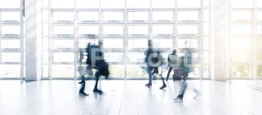 abstrakt image of people in the lobby of a modern business center  : Stock Photo or Stock Video Download rcfotostock photos, images and assets rcfotostock | RC-Photo-Stock.: