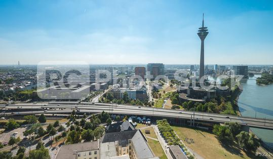 aerial view of Dusseldorf (NRW) in germany  : Stock Photo or Stock Video Download rcfotostock photos, images and assets rcfotostock | RC-Photo-Stock.: