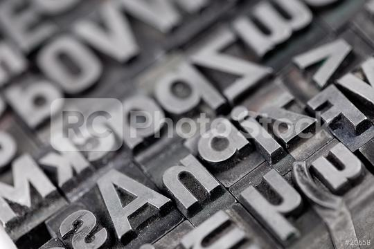 alte bleiletter close-up  : Stock Photo or Stock Video Download rcfotostock photos, images and assets rcfotostock | RC-Photo-Stock.: