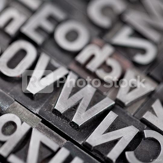 alte bleiletter macro close-up  : Stock Photo or Stock Video Download rcfotostock photos, images and assets rcfotostock | RC-Photo-Stock.: