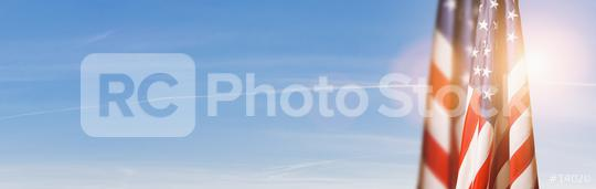 American flag for Memorial Day, 4th of July or Labour Day, copy space for individual text  : Stock Photo or Stock Video Download rcfotostock photos, images and assets rcfotostock   RC-Photo-Stock.: