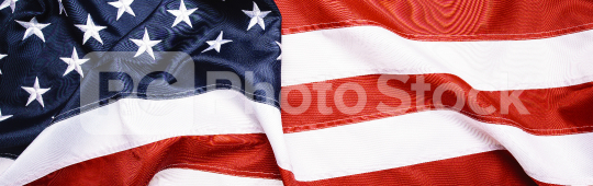 American Flag Wave for Memorial Day or 4th of July, banner size  : Stock Photo or Stock Video Download rcfotostock photos, images and assets rcfotostock | RC-Photo-Stock.: