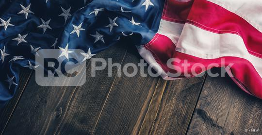 American USA flag on wood background  : Stock Photo or Stock Video Download rcfotostock photos, images and assets rcfotostock | RC-Photo-Stock.:
