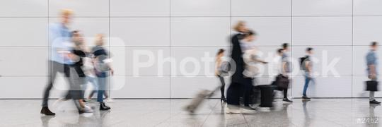 Anonymous business people go in office or trade fair  : Stock Photo or Stock Video Download rcfotostock photos, images and assets rcfotostock   RC-Photo-Stock.: