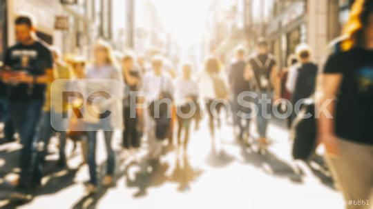 anonymous crowd of people walking  : Stock Photo or Stock Video Download rcfotostock photos, images and assets rcfotostock | RC-Photo-Stock.: