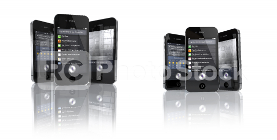 Apple iPhone 4S with Siri App  : Stock Photo or Stock Video Download rcfotostock photos, images and assets rcfotostock   RC-Photo-Stock.: