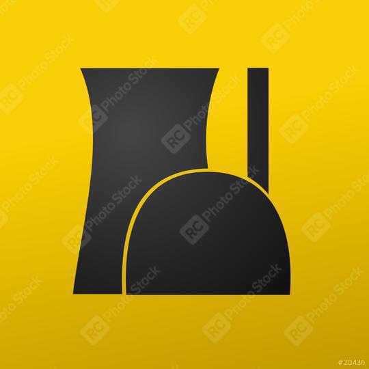 Atomkraftwerk Atomkraft Symbol icon Radioaktiv Vektor icon  : Stock Photo or Stock Video Download rcfotostock photos, images and assets rcfotostock | RC-Photo-Stock.: