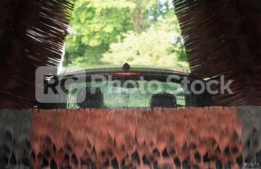 Automatic car wash in action  : Stock Photo or Stock Video Download rcfotostock photos, images and assets rcfotostock | RC-Photo-Stock.: