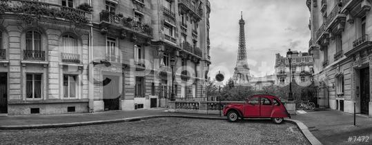 Avenue de Camoens in Paris panorama  : Stock Photo or Stock Video Download rcfotostock photos, images and assets rcfotostock | RC-Photo-Stock.: