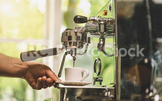 Barista Coffee Maker Machine Grinder Portafilter Concept  : Stock Photo or Stock Video Download rcfotostock photos, images and assets rcfotostock | RC-Photo-Stock.: