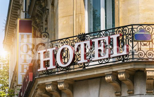beautiful old hotel sign  : Stock Photo or Stock Video Download rcfotostock photos, images and assets rcfotostock | RC-Photo-Stock.: