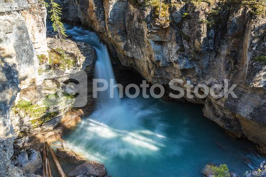 Beauty Creek trail Waterfall in Jasper canada  : Stock Photo or Stock Video Download rcfotostock photos, images and assets rcfotostock | RC-Photo-Stock.: