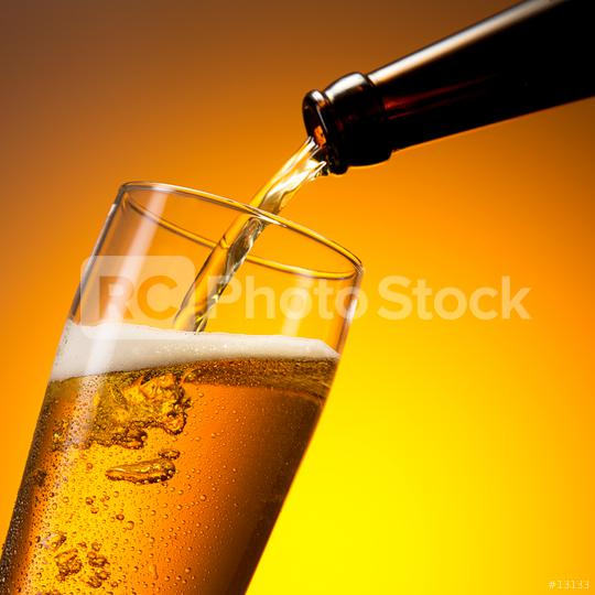 beer flows in to a cold glass  : Stock Photo or Stock Video Download rcfotostock photos, images and assets rcfotostock   RC-Photo-Stock.: