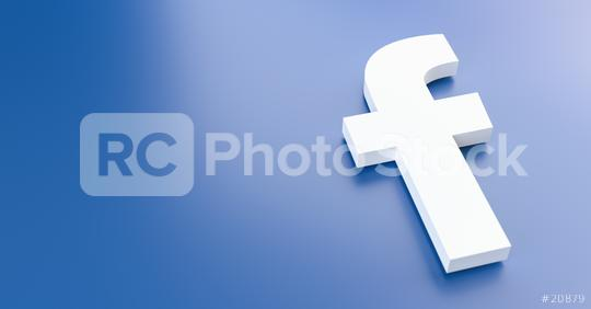 BERLIN, GERMANY JUNE 2021: Facebook logo for web sites, mobile applications, banners, printed on blue plastic background. The Social network facebook is one of the largest social networks in the world  : Stock Photo or Stock Video Download rcfotostock photos, images and assets rcfotostock | RC-Photo-Stock.: