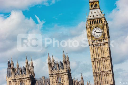 Big Ben and Houses of parliament with cloudy sky in London, UK  : Stock Photo or Stock Video Download rcfotostock photos, images and assets rcfotostock   RC-Photo-Stock.: