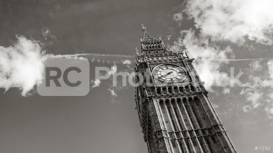 Big Ben in black and white colors, london, uk  : Stock Photo or Stock Video Download rcfotostock photos, images and assets rcfotostock | RC-Photo-Stock.: