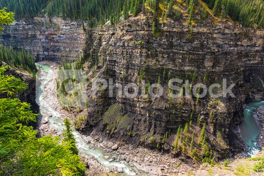 Bighorn canyon with crescent river alberta canada  : Stock Photo or Stock Video Download rcfotostock photos, images and assets rcfotostock | RC-Photo-Stock.: