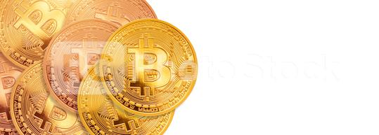 bitcoin - bit coin BTC the new crypto currency  : Stock Photo or Stock Video Download rcfotostock photos, images and assets rcfotostock   RC-Photo-Stock.: