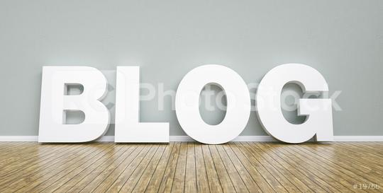 blog word concept against a wall - 3D rendering   : Stock Photo or Stock Video Download rcfotostock photos, images and assets rcfotostock | RC-Photo-Stock.: