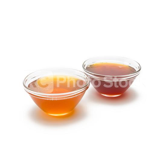 blossom honey and forest honey in shells  : Stock Photo or Stock Video Download rcfotostock photos, images and assets rcfotostock   RC-Photo-Stock.: