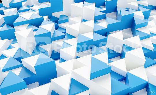 blue and white background with triangles - 3d rendering   : Stock Photo or Stock Video Download rcfotostock photos, images and assets rcfotostock   RC-Photo-Stock.: