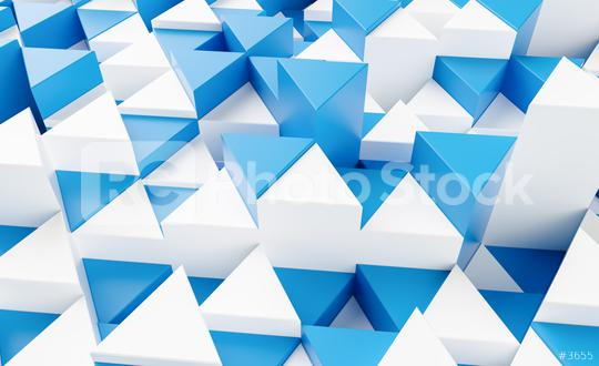 blue and white triangular abstract background, Grunge surface - 3d rendering   : Stock Photo or Stock Video Download rcfotostock photos, images and assets rcfotostock | RC-Photo-Stock.: