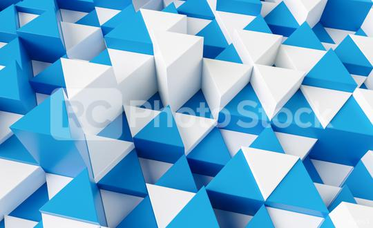 blue and white triangular abstract background, Grunge surface - 3d rendering   : Stock Photo or Stock Video Download rcfotostock photos, images and assets rcfotostock   RC-Photo-Stock.: