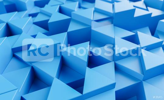 blue background with triangles - 3d rendering   : Stock Photo or Stock Video Download rcfotostock photos, images and assets rcfotostock | RC-Photo-Stock.:
