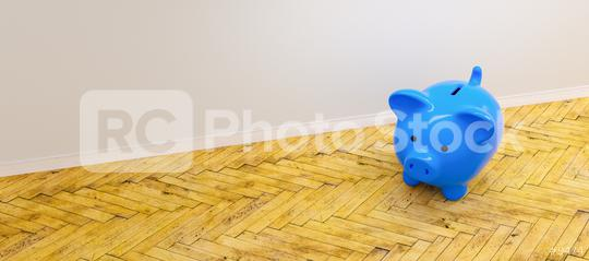 blue Piggy Bank, Savings, Currency, investment and development concept image    : Stock Photo or Stock Video Download rcfotostock photos, images and assets rcfotostock | RC-Photo-Stock.: