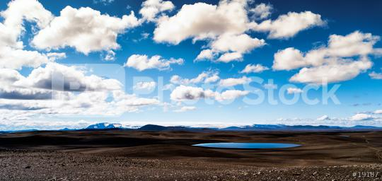 blue sky over a small volcanic pool  : Stock Photo or Stock Video Download rcfotostock photos, images and assets rcfotostock | RC-Photo-Stock.: