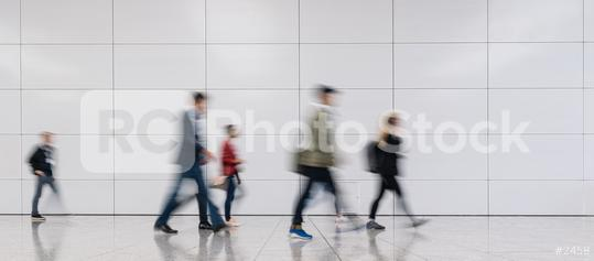 Blurred anonymous business people go to trade show or business event  : Stock Photo or Stock Video Download rcfotostock photos, images and assets rcfotostock | RC-Photo-Stock.: