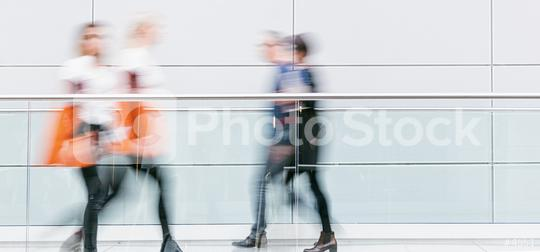 blurred anonymous crowd at a trade fair hall  : Stock Photo or Stock Video Download rcfotostock photos, images and assets rcfotostock | RC-Photo-Stock.: