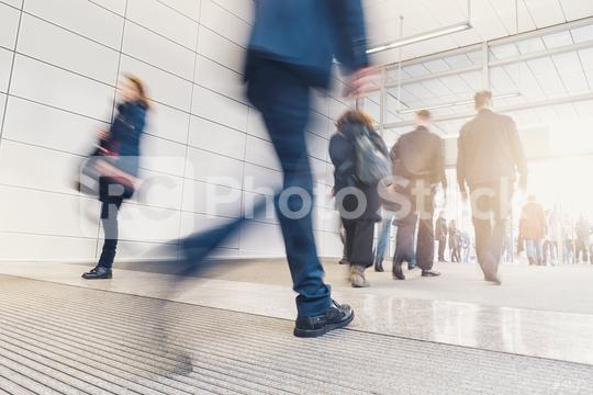 blurred anonymous people walking in a floor  : Stock Photo or Stock Video Download rcfotostock photos, images and assets rcfotostock | RC-Photo-Stock.: