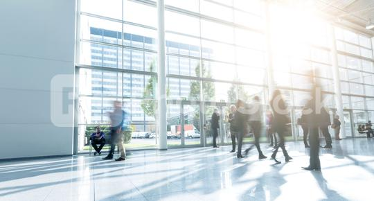 Blurred business exhibition visitors  : Stock Photo or Stock Video Download rcfotostock photos, images and assets rcfotostock | RC-Photo-Stock.:
