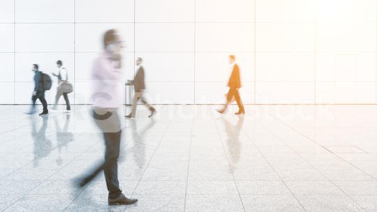 Blurred business people at a exhibition  : Stock Photo or Stock Video Download rcfotostock photos, images and assets rcfotostock | RC-Photo-Stock.: