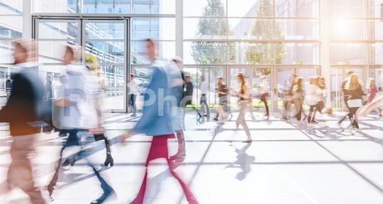 blurred business people at a trade fair  : Stock Photo or Stock Video Download rcfotostock photos, images and assets rcfotostock   RC-Photo-Stock.: