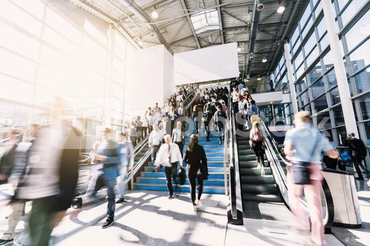 blurred business people at a trade fair  : Stock Photo or Stock Video Download rcfotostock photos, images and assets rcfotostock | RC-Photo-Stock.: