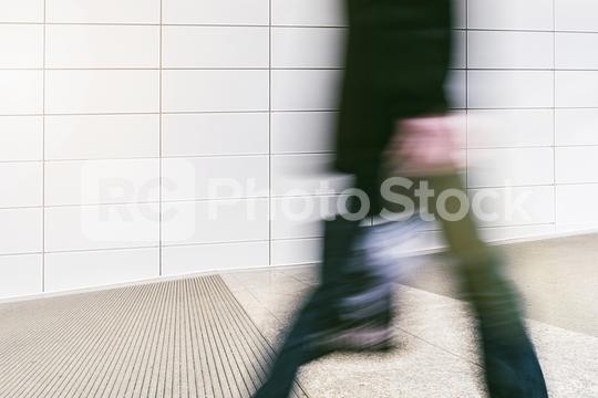 blurred business people at a trade fair entrance  : Stock Photo or Stock Video Download rcfotostock photos, images and assets rcfotostock | RC-Photo-Stock.: