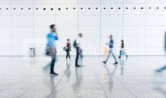 Blurred business people going on a floor  : Stock Photo or Stock Video Download rcfotostock photos, images and assets rcfotostock | RC-Photo-Stock.: