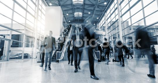 blurred business people on staircases   : Stock Photo or Stock Video Download rcfotostock photos, images and assets rcfotostock | RC-Photo-Stock.: