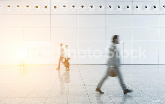 Blurred business people walking  : Stock Photo or Stock Video Download rcfotostock photos, images and assets rcfotostock | RC-Photo-Stock.: