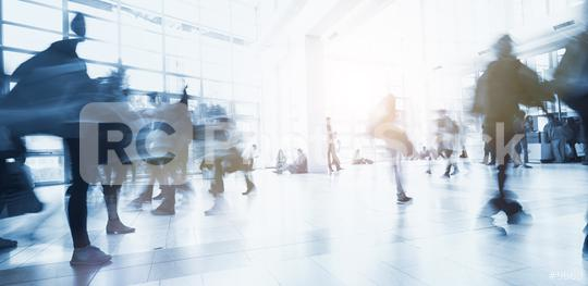 blurred business people walking by  : Stock Photo or Stock Video Download rcfotostock photos, images and assets rcfotostock | RC-Photo-Stock.: