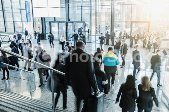blurred commuters walking at a airport hall  : Stock Photo or Stock Video Download rcfotostock photos, images and assets rcfotostock | RC-Photo-Stock.: