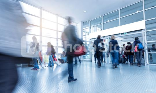 Blurred Conference Visitors  : Stock Photo or Stock Video Download rcfotostock photos, images and assets rcfotostock | RC-Photo-Stock.: