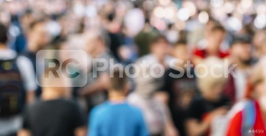 blurred crowd of people in a shopping street  : Stock Photo or Stock Video Download rcfotostock photos, images and assets rcfotostock | RC-Photo-Stock.:
