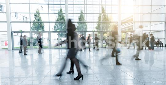 blurred Exhibition visitors at a walkway  : Stock Photo or Stock Video Download rcfotostock photos, images and assets rcfotostock | RC-Photo-Stock.: