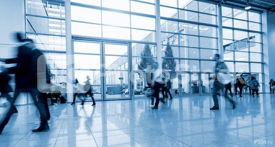 blurred Exhibition visitors walking in a modern hall  : Stock Photo or Stock Video Download rcfotostock photos, images and assets rcfotostock | RC-Photo-Stock.: